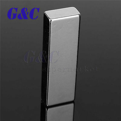 N52 Grade Block Super Strong 60x20x10mm Neodymium Permanent Rare Earth Magnet