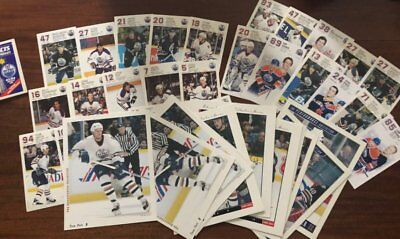 Edmonton Oilers Assorted Lot of Postcards, Photos  Lot of 41  Fuhr, Messier