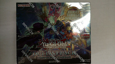 Yugioh Tcg Duelist Pack Dimension Guardians Booster Box 1St Edition Sealed New!