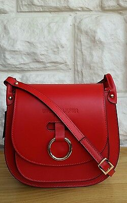 Bnwt, Christian Laurier Paris 'laia' Leather Cross Body Bag.  Rrp £195