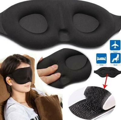 Sleeping Eye Mask Help Sleep Blanket Patch Case Headband Visor traveling relax