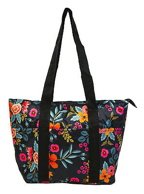 Fl Flower Reusable Lunch Tote Bag Work School Insulated