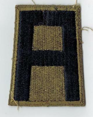 WWII 1st Army Green Back Uniform Patch US Army WWll Original Mose Collection