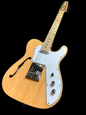 New 12 String Semi-Hollow T-Line Style Electric Guitar