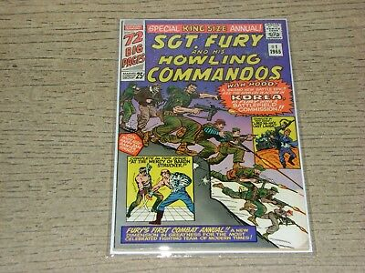 1965 Sgt Fury (F+ 6.5) King Size Annual #1