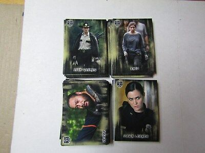 2018 THE WALKING DEAD  HUNTERS and the HUNTED  BASE SET #1-100, 100 CARDS TOTAL