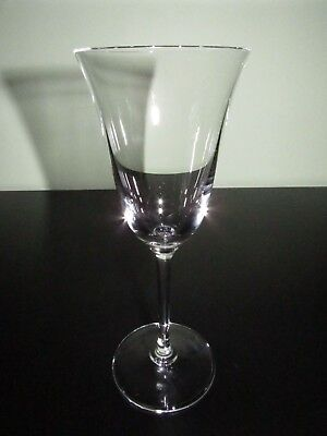 Vera Wang Wedgwood~Classic Champagne / Wine Flute Stemmed Crystal  Excellent!