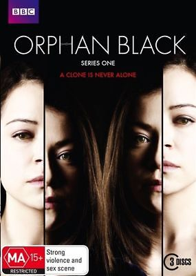 Orphan Black Season 1 (DVD, 2014, 3-Disc Set) LIKE NEW R4 DVD FREE POST