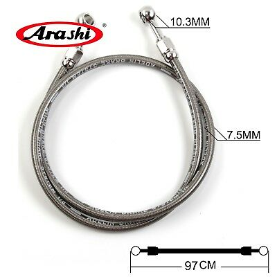 Universal Motorcycle Brake Hydraulic Hose Clutch Cable Pipe Oil Tube Line 97CM