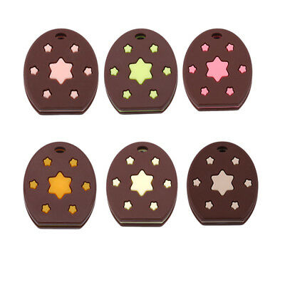 1Pc Baby Teether Toddler Cookies Silicone Colorful Sweet Star Teething Toy ND