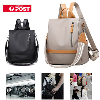 Women Anti-theft Oxford Cloth Backpack Travel Rucksack Shoulder Bags Waterproof