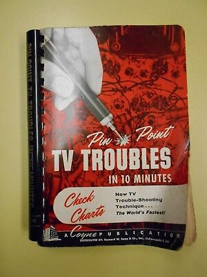 1957 Pin Point TV Troubles in 10 Minutes Coyne Electrical & Radio School