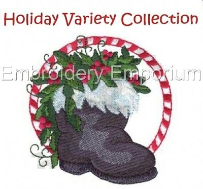 Holiday Variety Collection - Machine Embroidery Designs On Cd