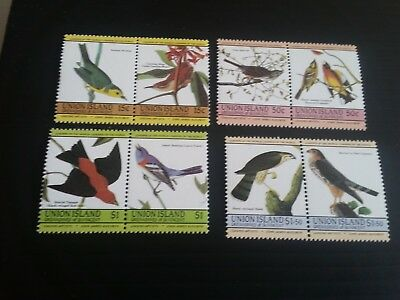 Stvincent/union Island 1985  Birth Bicent Of J Audubon Mnh (B)
