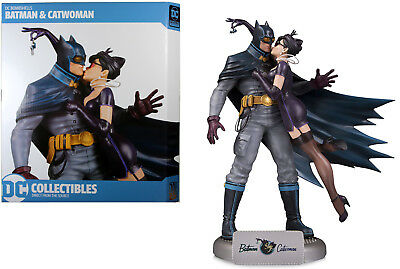 DC Collectibles ~ BATMAN & CATWOMAN DELUXE STATUE ~ DC Bombshells Series