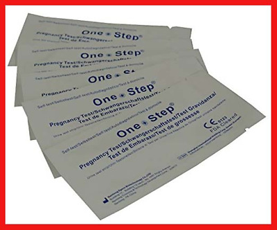 One Step® 20 x Highly Sensitive 10mIU Pregnancy Test Strips tests up to 6 days