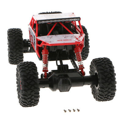 Perfeclan Racing 1:18 Blackout 4WD Electric Monster Truck RTR Chassis Red