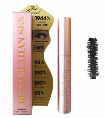 Too Faced Better Than Sex Eye Eyelash Make Up Mascara Black 8g