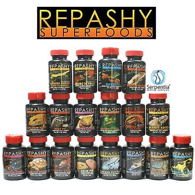 Repashy Superfoods Supplements, Calcium, Vitamins. All-in-one Complete Diets