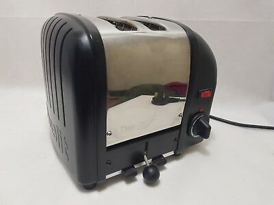 Dualit 2 Slice Vario Toaster Black Wide Slice