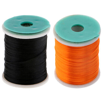 Perfeclan 2pcs 210 Denier Fly Tying Threads Materials Fly Fishing Threads