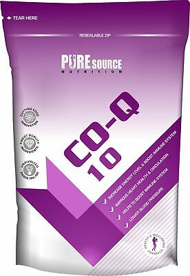 Co-Enzyme Q10 100mg ( CoQ10 CO-Q-10 CoQ-10 ) Softgels CoEnzyme Pure Source Nutri