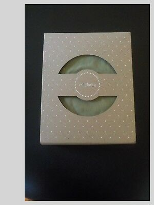 Original Solly Baby Wrap In Natural And Grey Stripe With Box And