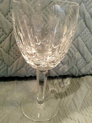 VINTAGE Waterford Crystal Kildare Water Goblet 7""