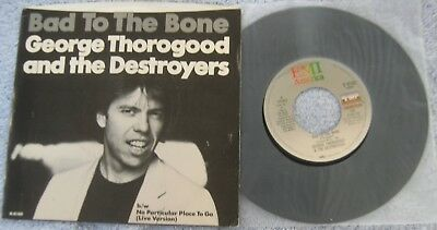 """George Thorogood  - Bad To The Bone/No Particular..(LIVE) - Picture Sleeve PS 7"""""""