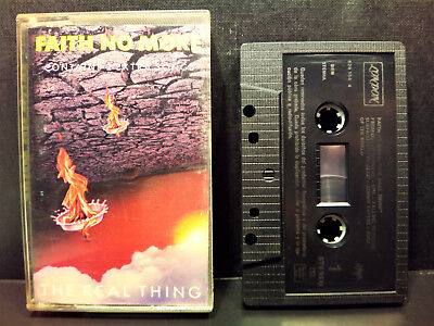 """FAITH NO MORE  """" The Real Thing """"  -  Cassette  -  1989 Spain"""