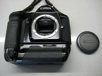 Canon EOS-1N  35mm SLR Film Camera body + Power Drive Booster E1. VGC