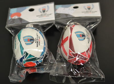 NEW GILBERT Rugby World Cup Japan 2019 ball keyring - Logo + England RWC2019