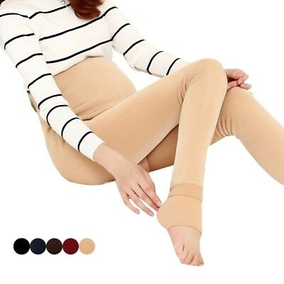 Maternity Leggings Soft Warm Pregnancy Pants Winter Thicken High Waist Trousers
