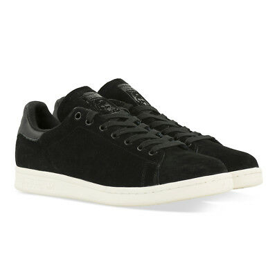huge discount 99bd0 379a2 Adidas Originals Stan Smith Black Suede Us 8 11 Uk 7,5 10,5