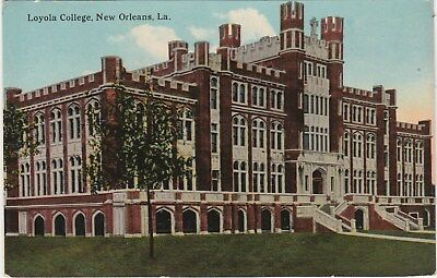 Loyola College New Orleans Louisiana LA Postcard Divided Back