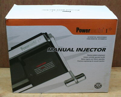 Powermatic 1+ Manual Cigarette Injector Rolling Machine In Box