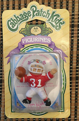Rare Factory Sealed 1985 Football Player Cabbage Patch Kids Figurine