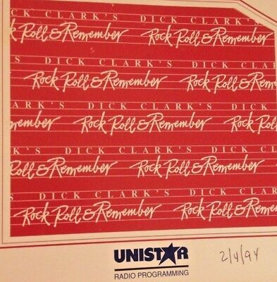 RADIO SHOW: DICK CLARK'S RR&R 2/4/94 BEATLES TRIBUTE; 4 HRS 60+ 50/60s HITS