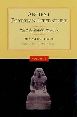 NEW Ancient Egyptian Literature By Miriam Lichtheim Paperback Free Shipping