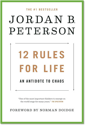 12 Rules for Life: An Antidote to Chaos by Jordan Peterson🌟2018🌟 PDF Book 🌟