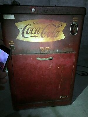 Vintage Vendo Coca Cola Machine
