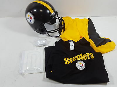 For Franklin Sports NFL Pittsburgh Steelers Deluxe Youth Uniform Set 8c1183a47