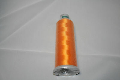 ThreaDelight 6 Cones of 5500-yard Commercial Embroidery Thread White P946 40wt
