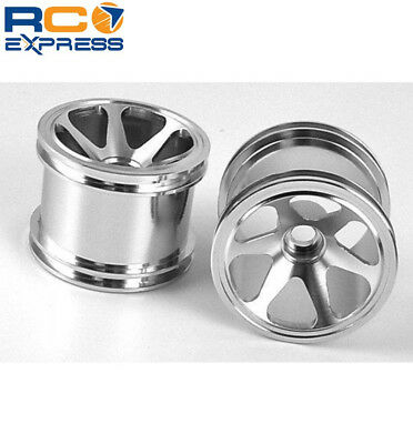 GPM Racing Losi Mini-T Silver Aluminum Front Steering C-Hubs SMT01908