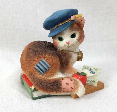 Calico Kittens Figurine Thanks For Guiding Towards Our Goals Teacher Travels Cat