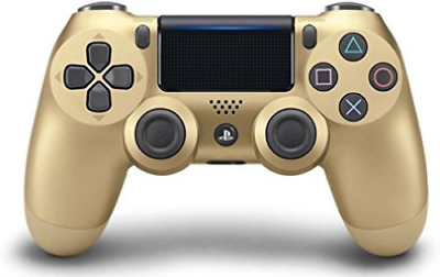 New DualShock 4 Wireless Controller for PlayStation 4 Gold Shop all Sony
