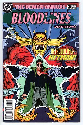 Demon Annual #2 Bloodlines 1st Appearance of Hitman 1st Print DC 1993 NM- 9.2