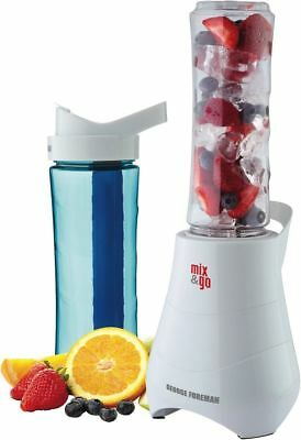 George Foreman Mix and Go Blender - GFBL300 - with 2*600mL bottles