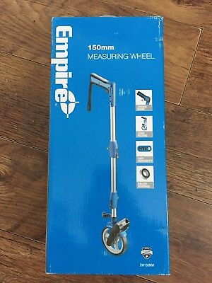 EMPIRE 150mm~PROFESSIONAL~FOLDING~MEASURING WHEEL~SURVEYORS~ENGINEERS WHEEL+BAG
