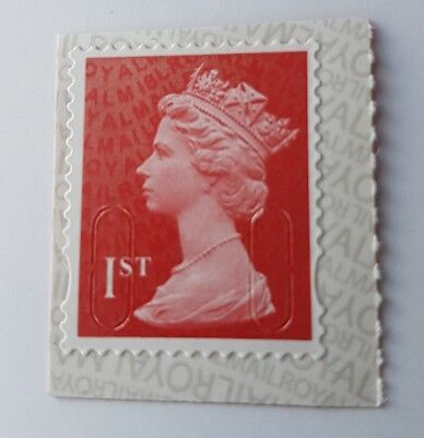 2018 U3027 (U2968g) 1st Class Red M18L MCIL Machin SINGLE MINT STAMP SBP2U PB-Ls